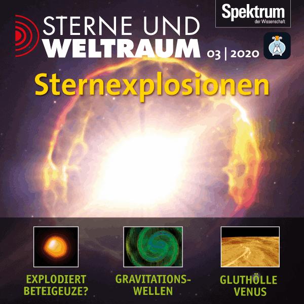 Sternexplosionen – Sterne und Weltraum