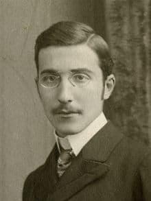 Stefan Zweig im Jahr 1900