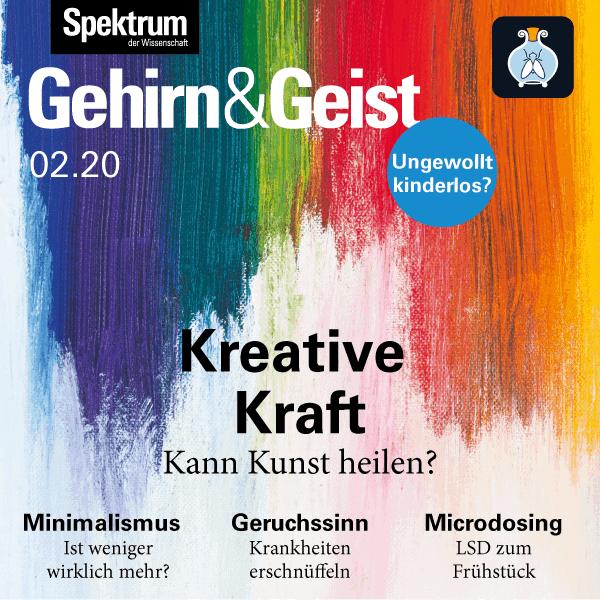 Kreative Kraft – Kann Kunst heilen – Kunsttherapie – Sandra Fronterre – Gehirn&Geist 2020/02