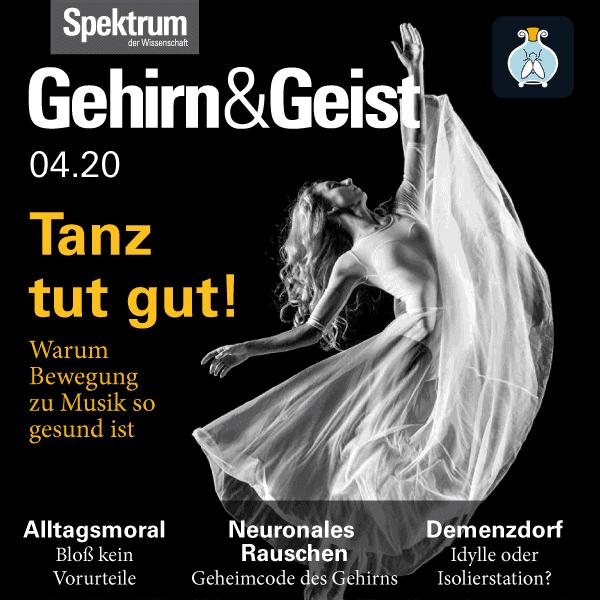 Tanz tut gut! – Gehirn&Geist Ausgabe 2020/04 – Hörbuch bei Fliegenglas