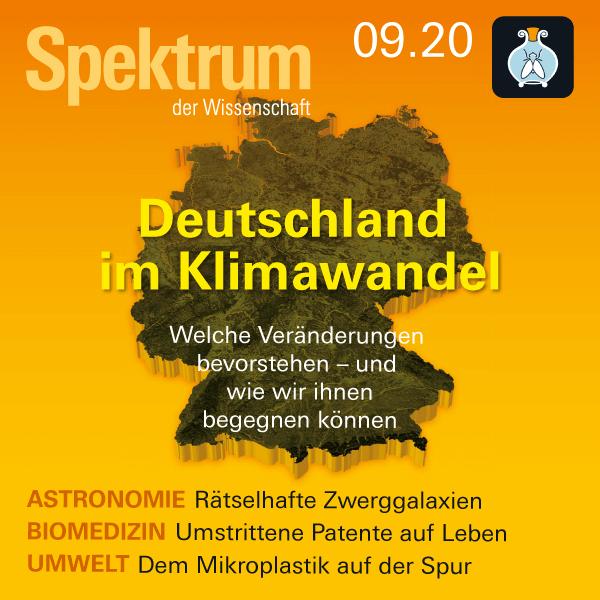 Deutschland im Klimawandel – Spektrum der Wissenschaft 2020/09 Hörbuch