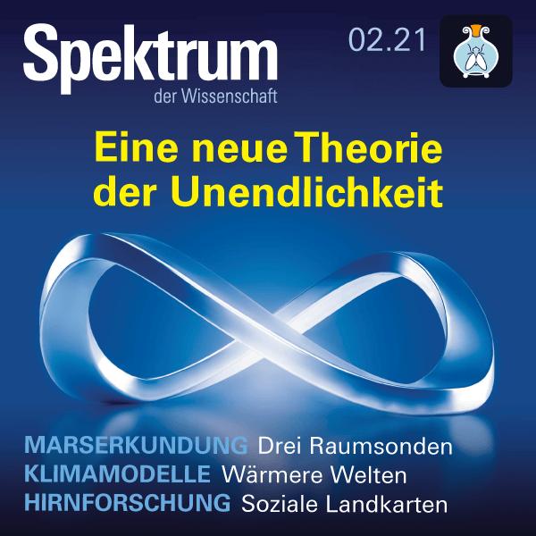 Eine neue Theorie der Unendlichkeit – Spektrum der Wissenschaft 2021/02 – Hörbuch