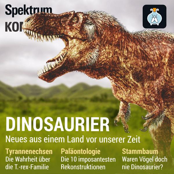 Dinosaurier: Neues aus einem Land vor unserer Zeit – Spektrum Kompakt – Hörbuch