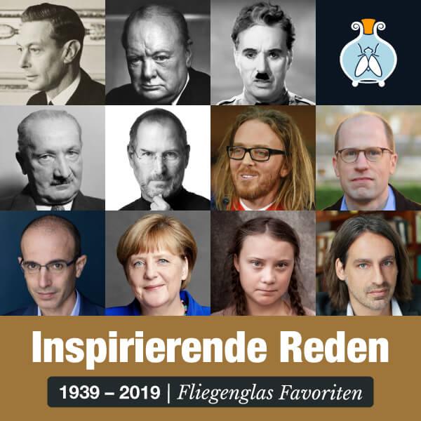 Inspirierende Reden 1939 - 2019 – Hörbuch