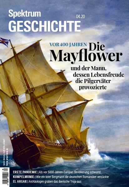 Die Mayflower und der Mann, dessen Lebensfreude die Pilgerväter provozierte – Spektrum Geschichte – Hörbuch