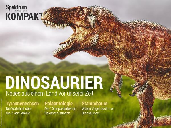 Dinosaurier: Neues aus einem Land vor unserer Zeit – Spektrum der Wissenschaft Kompakt – Hörbuch