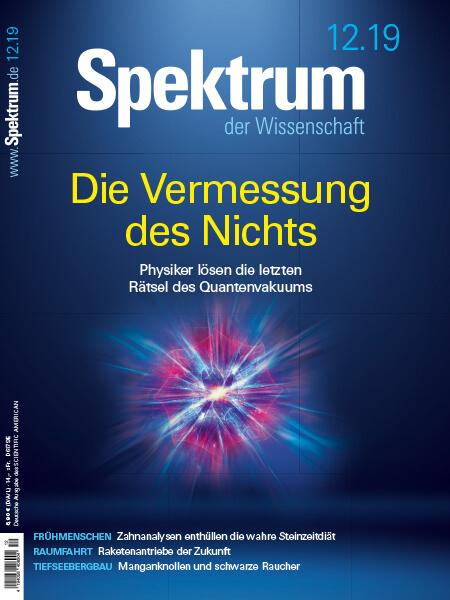 Die Vermessung des Nichts, die letzten Rätsel des Quantenvakuums – Spektrum der Wissenschaft – Hörbuch