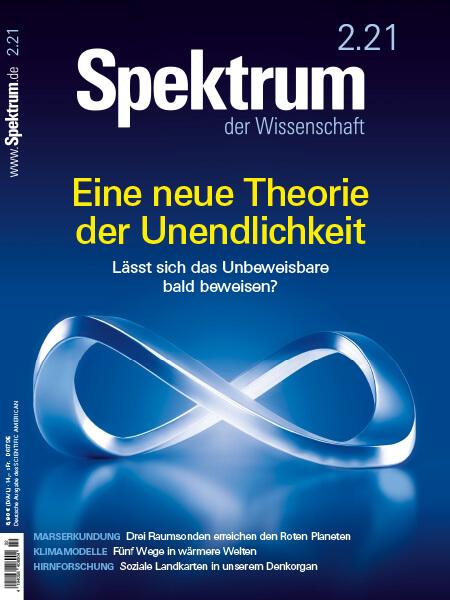 Eine neue Theorie der Unendlichkeit – Spektrum der Wissenschaft – Hörbuch