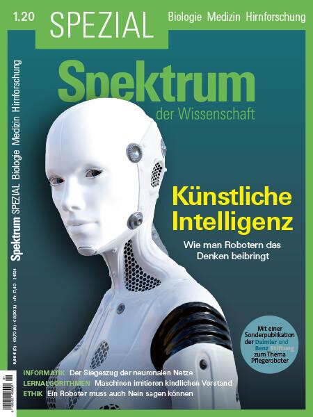 Künstliche Intelligenz: Wie man Robotern das Denken beibringt – Spektrum der Wissenschaft Spezial – Hörbuch
