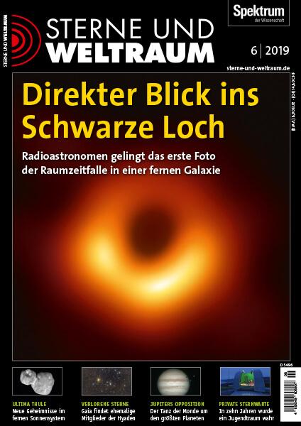 Schwarzes Loch: Radioastronomen gelingt das erste Foto! – Sterne und Weltraum – Hörbuch