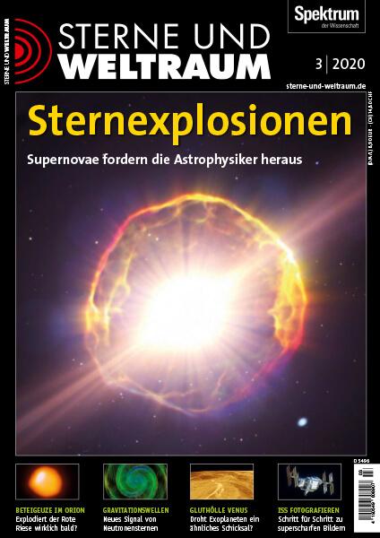 Sternexplosionen: Supernovae fordern Astrophysiker heraus – Sterne und Weltraum – Hörbuch
