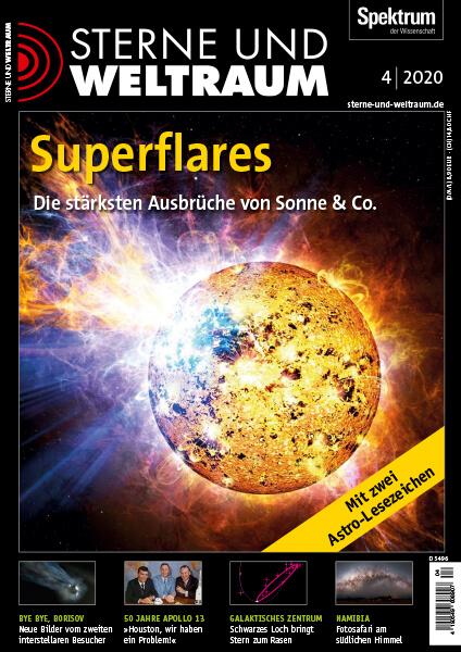 Superflares – Die stärksten Ausbrüche von Sonne & Co. – Sterne und Weltraum – Hörbuch