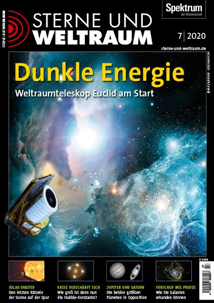 Dunkle Energie: Weltraumteleskop Euclid am Start – Sterne und Weltraum – Hörbuch
