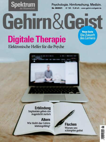 Digitale Therapie: Elektronische Helfer für die Psyche – Gehirn&Geist – Ausgabe 2021/06 – Hörbuch
