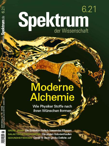 Moderne Alchemie: Wie Physiker Stoffe nach ihren Wünschen formen – Spektrum der Wissenschaft 2021/06 – Hörbuch