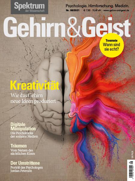 Kreativität: Wie das Gehirn neue Ideen produziert – Gehirn&Geist 2021/08 – Hörbuch