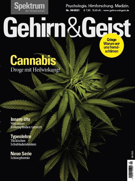 Cannabis: Droge mit Heilwirkung? – Gehirn&Geist, Ausgabe 2021/09 – Hörbuch