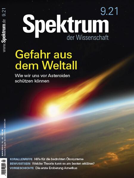 Gefahr aus dem Weltall – Wie wir uns vor Asteroiden schützen können – Spektrum der Wissenschaft 2021/09 – Hörbuch