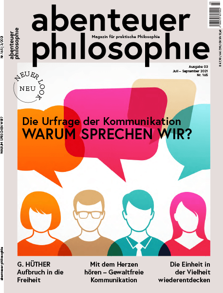 Die Urfrage der Kommunikation: Warum sprechen wir? – Abenteuer Philosophie 2021/03 – Hörbuch